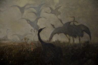 'Cranes' (Detail)