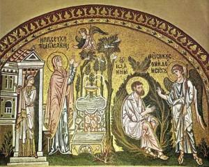 Благовещение Анне и Иоакиму