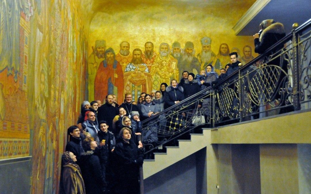 Состоялась паломническая поездка молодежи в Сретенский монастырь