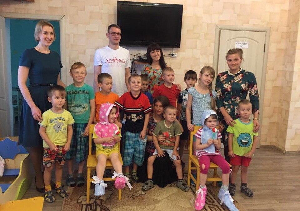 Молодежь из группы «Лествица» посетила детский реабилитационный центр Коломны