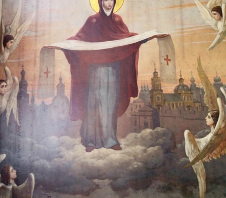 Праздник Покрова Божией Матери. Фотоотчет. Литургия