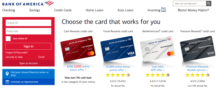 Apply And Activate Your Bank Of America Cash Rewards Credit Card