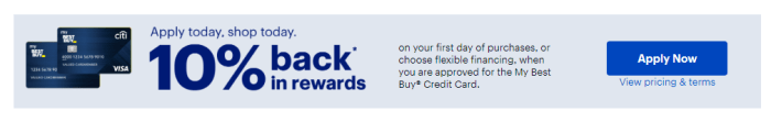 Best Buy Credit Card apply