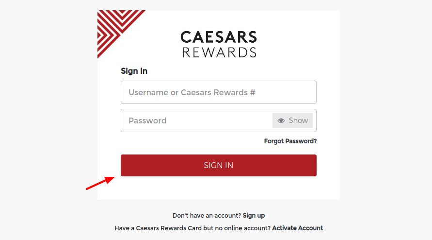Caesars-Rewards-Sign-In