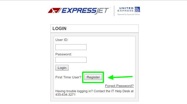 ExpressJet Register