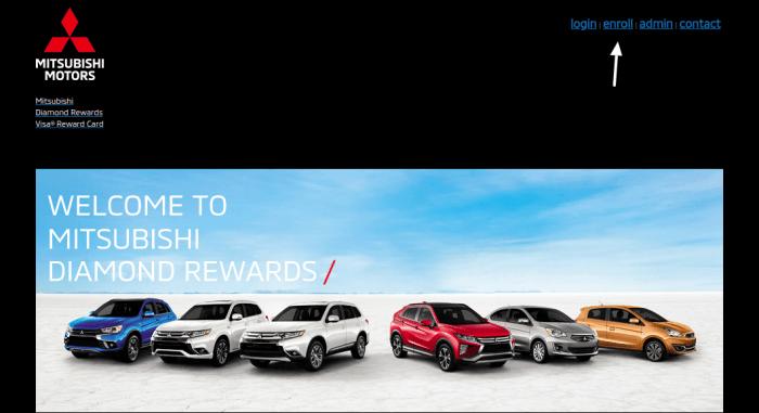 Mitsubishi Diamond Rewards Enroll