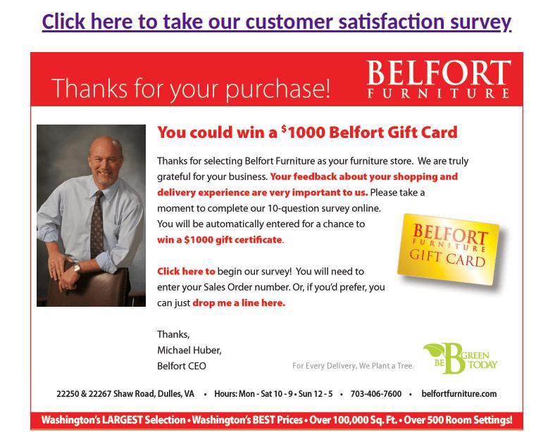 belfortfurniture survey