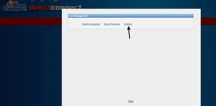 Direct Connect Register