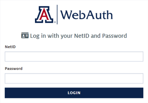 University of Arizona Student login