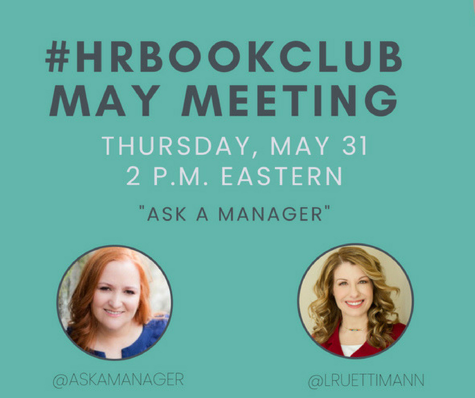 #HRBookClub Ask a Manager