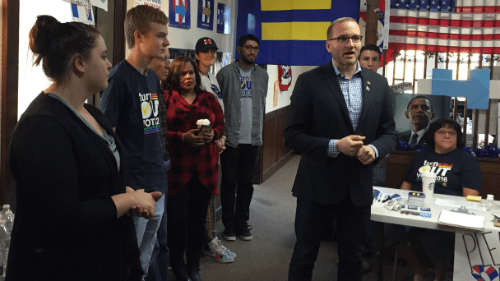 HRC President Chad Griffin in Colorado to #turnOUT the Vote!