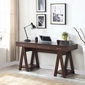 Dark Walnut Writing Desk