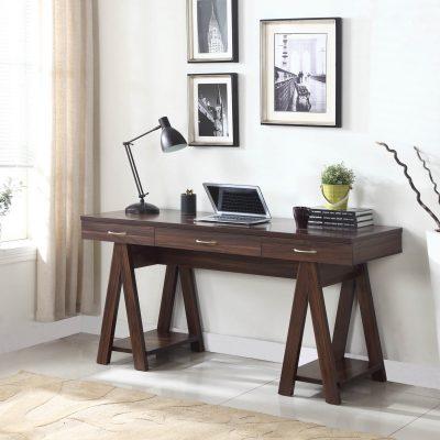 Dark Walnut Writing Desk