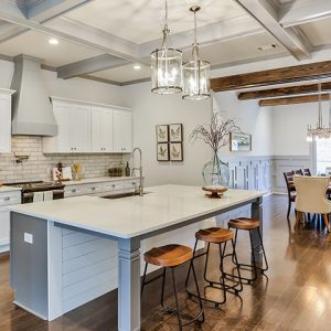 Rental home staging in Atlanta - Simple and less involved home staging kitchen
