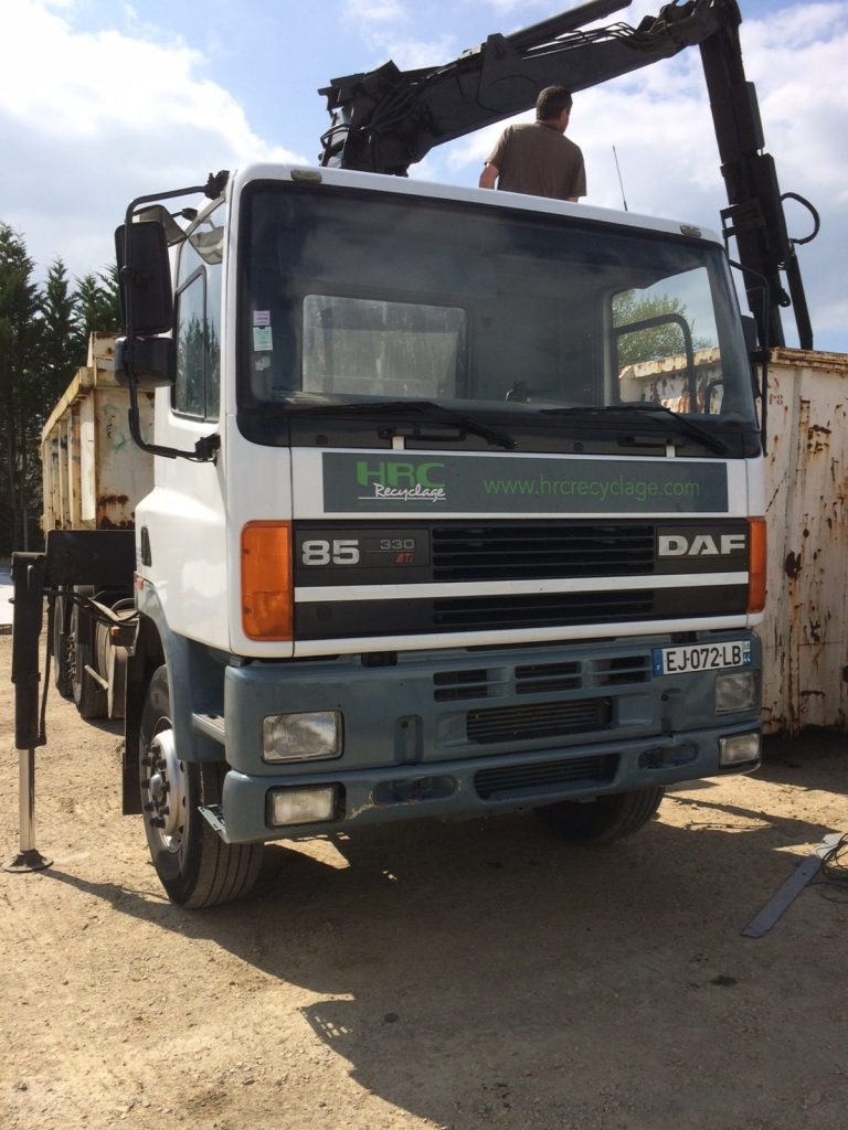 HRC_Recyclage_camion_ampirol_internvetion_ferraille