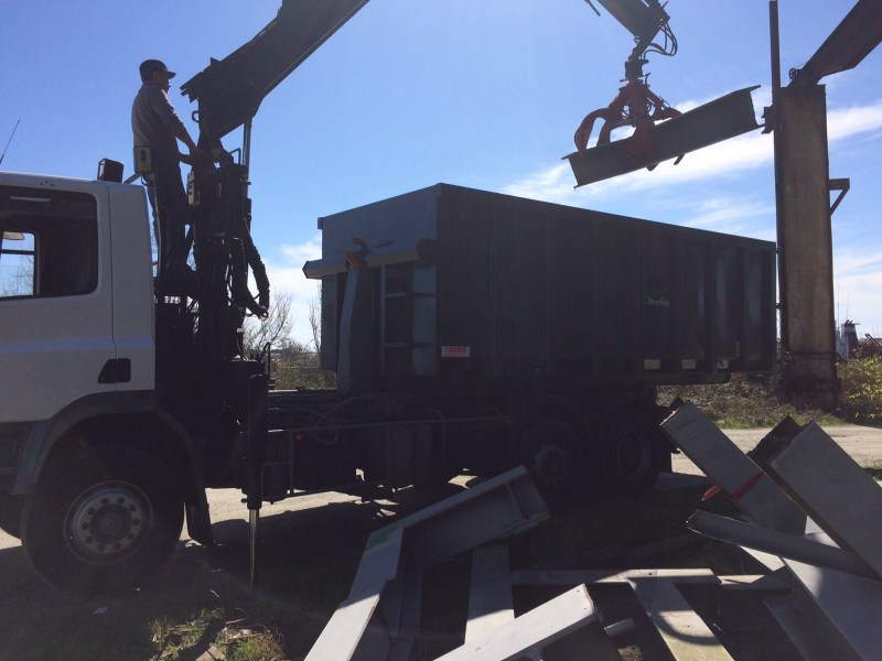 HRC_Recyclage_camion_grue_démolition_structure