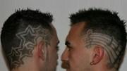 hair tattoo design- banaiye apna