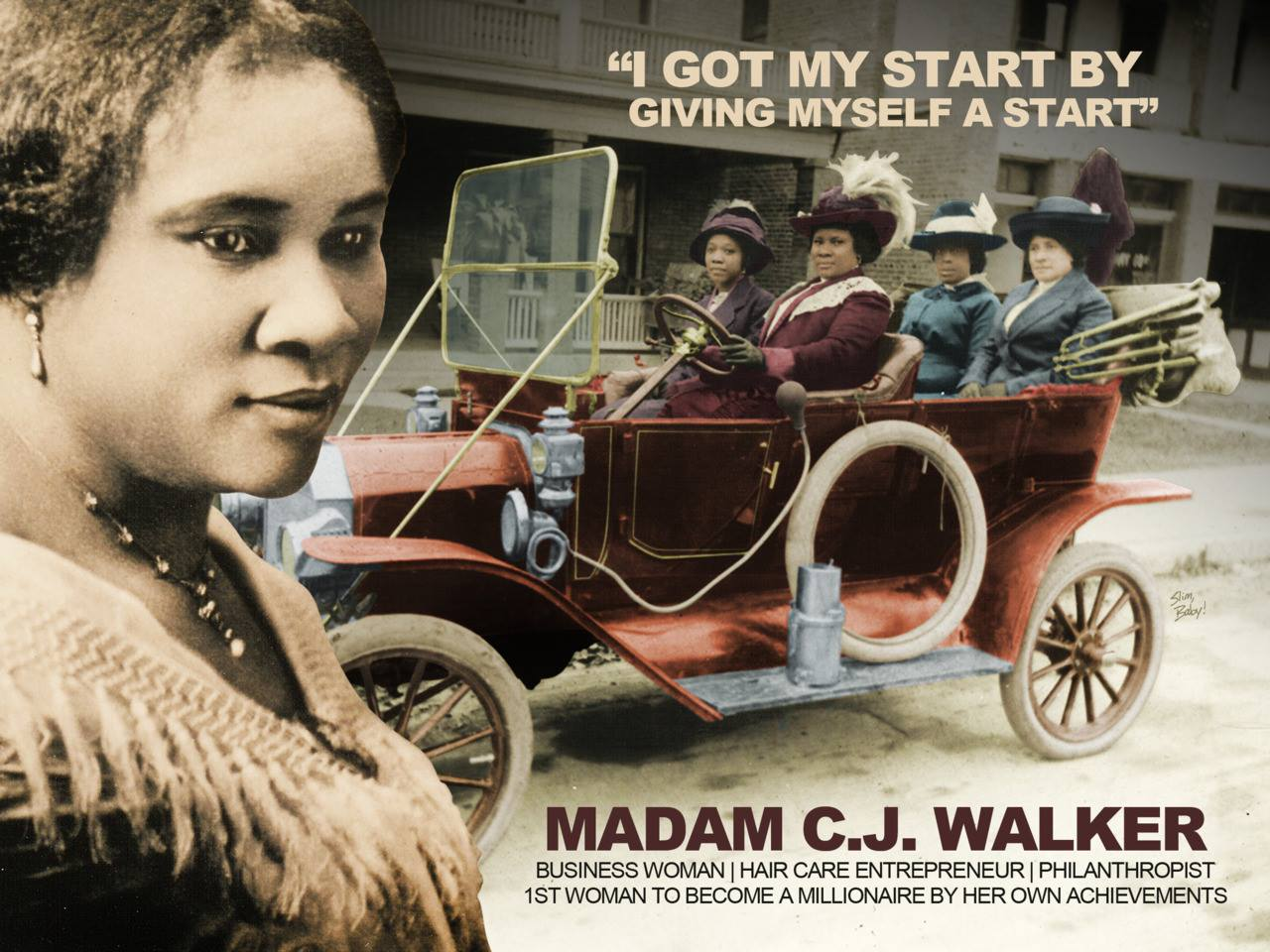 Madam C J Walker Know Who She Is