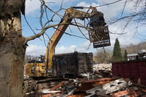 LA Fitness in Henley on Thames being bulldozed
