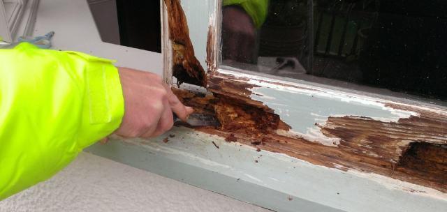 Rotten wood repair  Windows & Doors  HRG Services