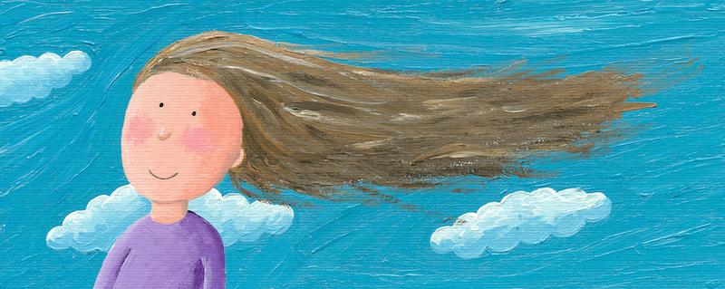 Menina livre no vento - Solidão Serena parte 5 - Hridaya Terapia