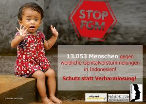 Terre des Femmes setzt sich gegen Genitalverstümmelung ein