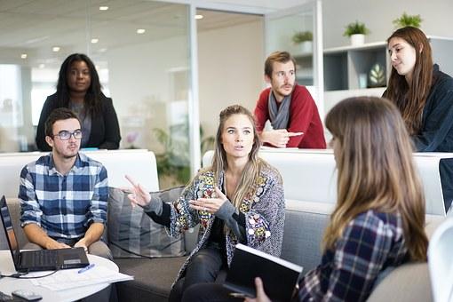 Das Projektteam BGM setzt sich aus unterschiedlichen Unternehmensmitgliedern zusammen