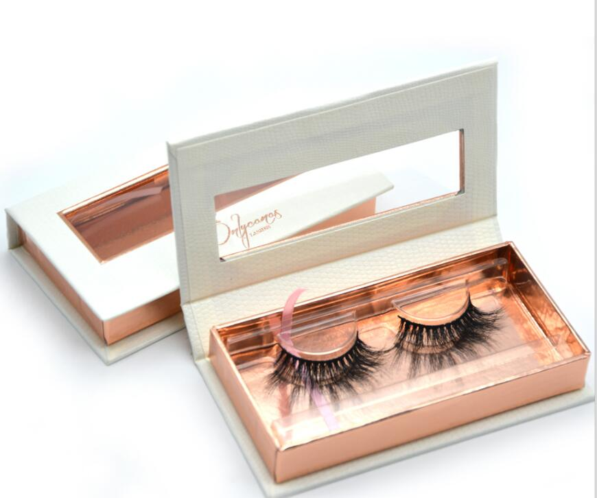 mink eyelash boxes