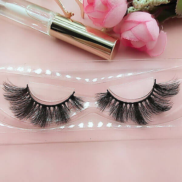 Vegan lashes 3D faux mink lashes cruelty free