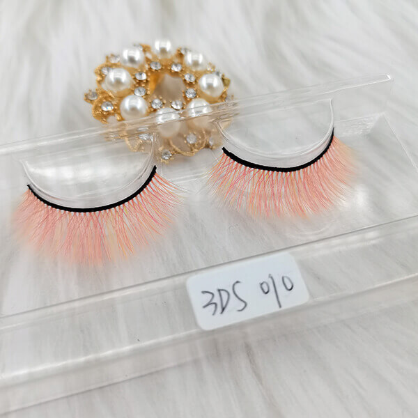 Colored lashes colorful eyelashes  pink colored eyelashes Wholesale False Eyelashes Wholesale Fake  Eyelashes Wholesale Vegan Faux  Mink Eyelashes Factory |Cheap Eyelashes Wholesale Strip Eyelash Suppliers Hand Made From Premium Synthetic Silk vegan faux mink eyelashes vendor