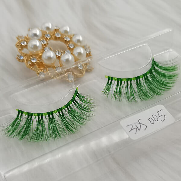 Colored lashes colorful eyelashes  green colored eyelashes Wholesale False Eyelashes Wholesale Fake  Eyelashes Wholesale Vegan Faux  Mink Eyelashes Factory |Cheap Eyelashes Wholesale Strip Eyelash Suppliers Hand Made From Premium Synthetic Silk vegan faux mink eyelashes vendor