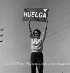 Dolores Huerta, 1965. Photo by Harvey Richards