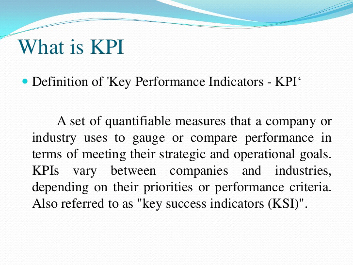What Is KPI? Human Resource Management