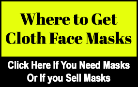 Banner Ad on Hello Georgetown- Cloth Face Masks