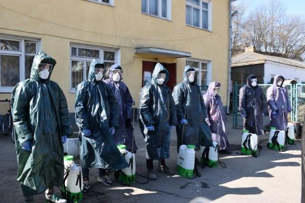 На карантині: маршрутки та автобуси західної України