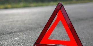 В Киеве девушка на мотоцикле протаранила легковушку
