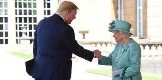 Елизавета II встретилась с Трампом