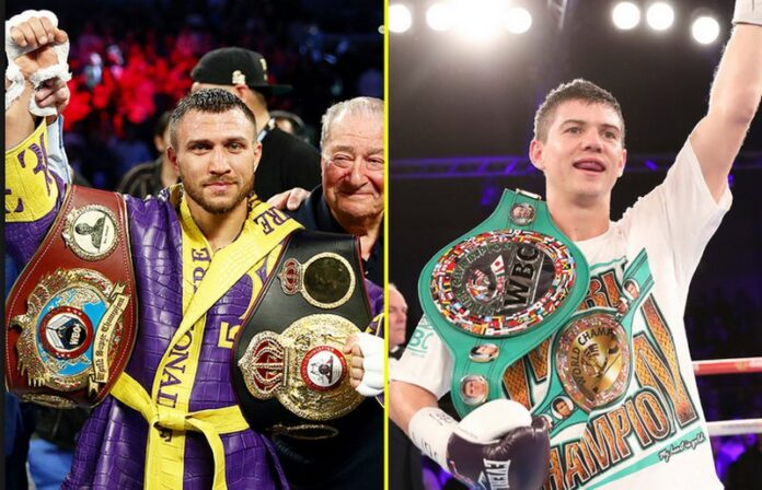 Vasiliy Lomachenko to fight Luke Campbell for WBC lightweight title