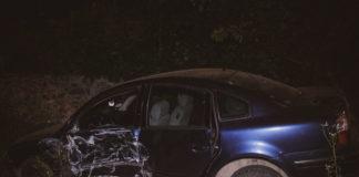 ДТП в Киеве: Volkswagen оставил часть домов без света