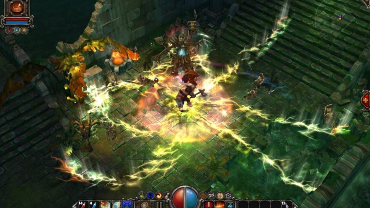 cropped Torchlight