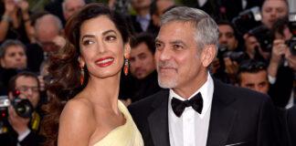 Амаль Клуни очаровала ярким выходом в костюме