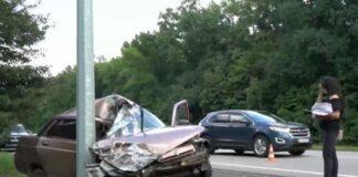 Грабитель угнал авто у таксиста и устроил погоню в Харькове. Видео .