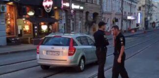 В Харькове проучили «героя парковки». Видео