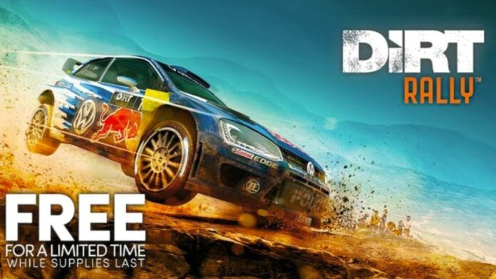 Dirt Rally is free right now on the Humble store