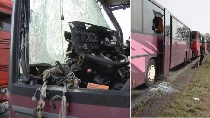 In Poland just missed the bus: many wounded - micetimes asia