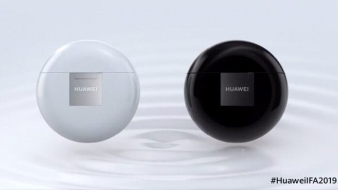 Huawei has unveiled wireless headphones FreeBuds 3