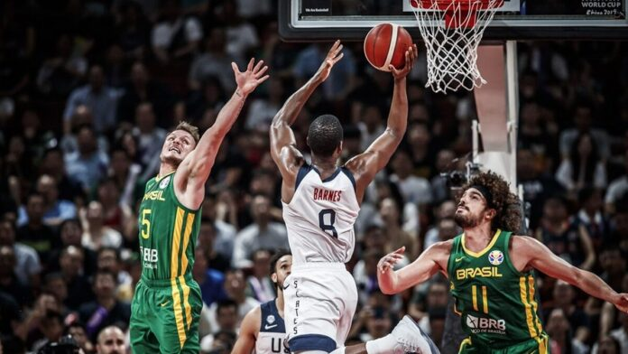 Smart, Brown show out as Team USA rolls over Brazil