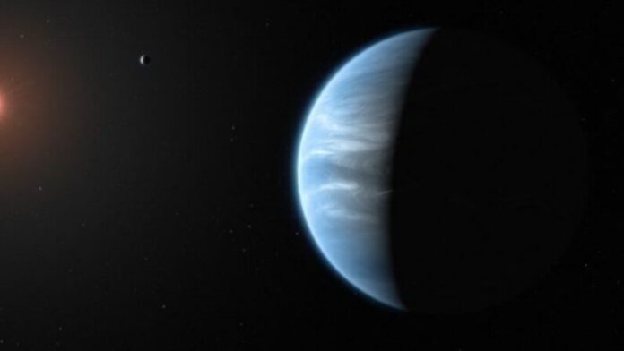 """Water vapor has been spotted on a """"habitable zone"""" planet 110 light years away"""