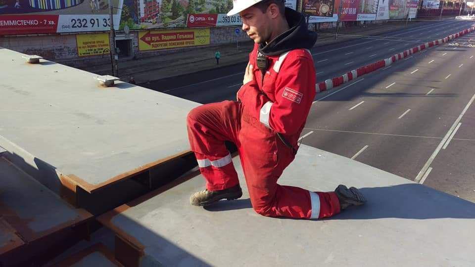 Как проходят ремонтные работы Шулявского моста. Фото