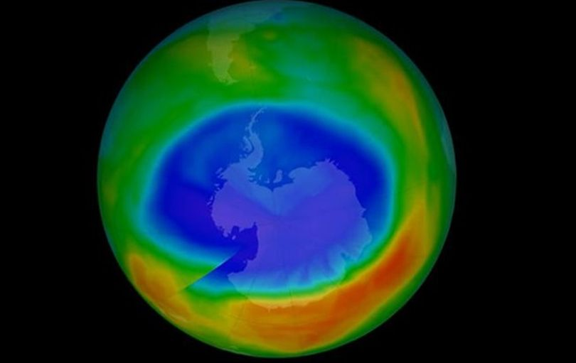 ozonovaya dyra nad antarktikoj